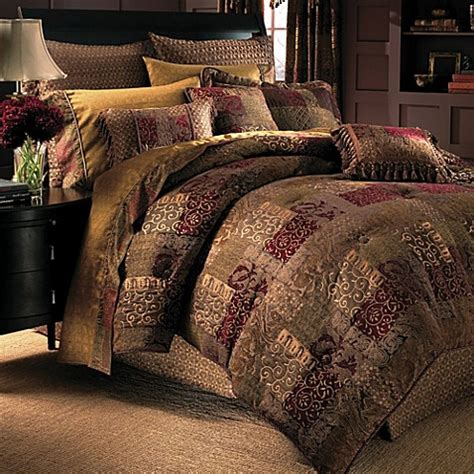 bed and bath comforter sets croscill 174 galleria oversized comforter set bed bath beyond