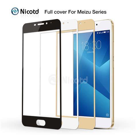 Tempered Glass Meizu 3 M3 M3s 5 0 Anti Gores Kaca nicotd 9h cover tempered glass for meizu m3 note m3s m3 mini max m3e m3x pro 5 6 plus u10