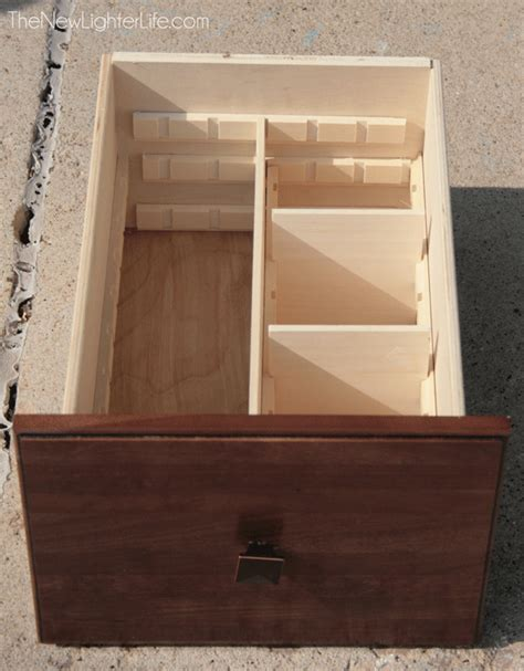How Do You Say Drawers In by Diy Built In Drawer Organizers The New Lighter