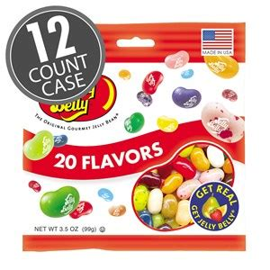 jelly bean bag count 20 assorted jelly bean flavors 3 5 oz bag 12 count