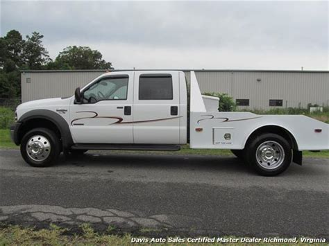 western hauler bed 2005 ford f 450 super duty lariat crew cab long bed