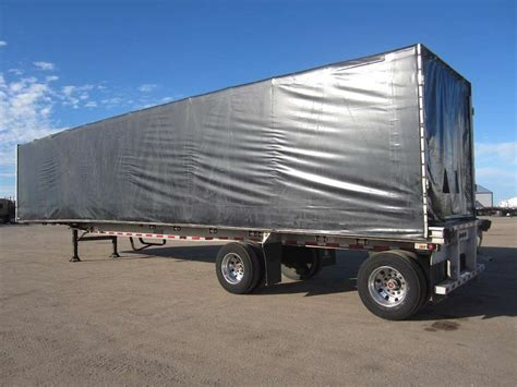 curtain side trailers for sale 2005 ravens curtain side trailer for sale sawyer ks