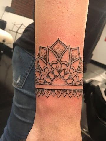 art freek tattoo freek mandala cuff