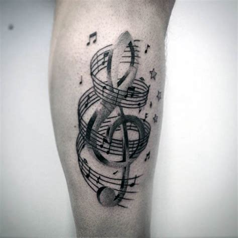 80 violinschl 252 ssel tattoo designs f 252 r m 228 nner musical ink