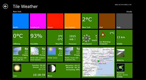 Tile App Sale This Small Metro App Uses Live Tiles To Display Weather