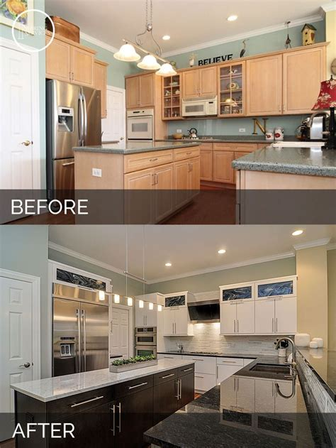 kitchen remodel before and after ideas 25 best ideas about before after kitchen on pinterest