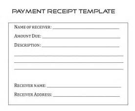 loan receipt template sle payment receipt form template by builder