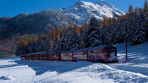 val roseg carrozze la natura e il trenino rosso da gennaio a marzo 2018