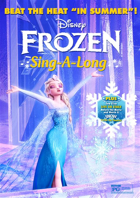 film frozen sing along frozen sing along comes to el capitan for a limited time
