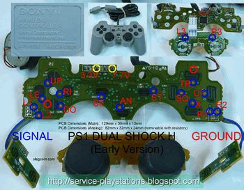 Karet Stick Stik Ps2 Getar Standart diagram analog stick controller ps2 ps3 revo blitar