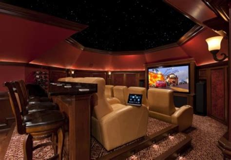 Media Room Installation Dallas - attic conversion home theater contemporary home theater dallas by starlight home theater