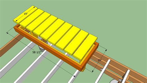 how to build a deck bench how to build a deck bench howtospecialist how to build