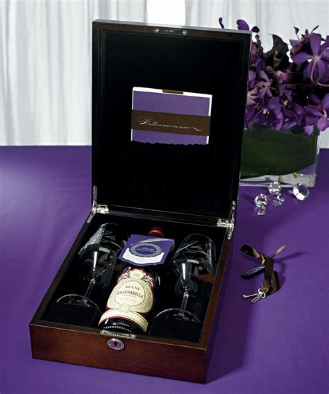 Wedding Ceremony Wine Box by Letter Wedding Ceremony Wine Box Set Unity Ceremony