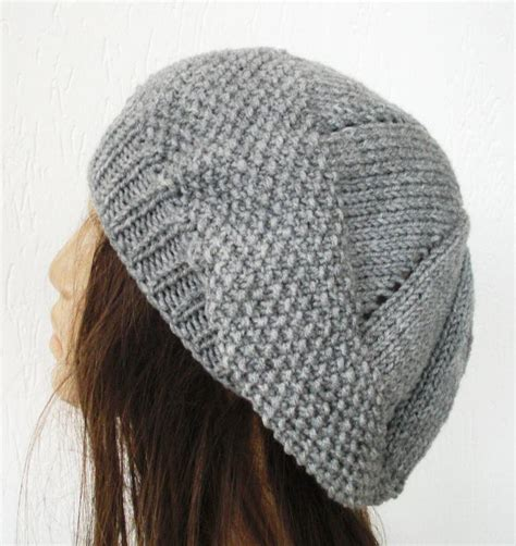 Knit Beret Hat Pattern A Knitting