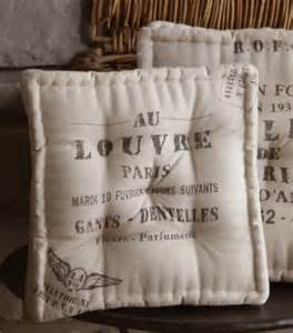 As my dining room chair cushions for my farmhouse table and chairs
