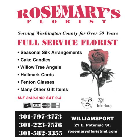 business directory for williamsport md