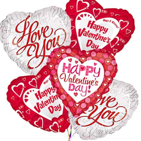 valentines day balloon bouquets s day mylar balloon bouquet at send flowers