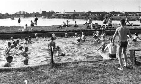 zwemles enschede toen in zwemmen in het twentekanaal indebuurt enschede