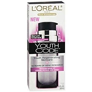 Mascara Ql Youth l oreal youth code youth regenerating skincare serum daily treatment 1 fl oz