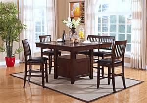 kaylee counter height dining table and 4 side chairs