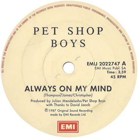 pet shop boys always on my mind in my house pet shop boys always on my mind in my house 28 images pet shop boys always on my