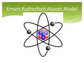 Ernest Rutherford Proton Atomic Model Original