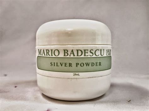 Mario Badescu Silver Powder Berkualitas mario badescu skin care range review the junkee