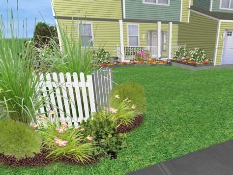 landscaping ideas  hide utility boxes front garden