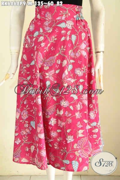 Rok Klok Anak rok batik modis dan keren batik rok halus model klok pake