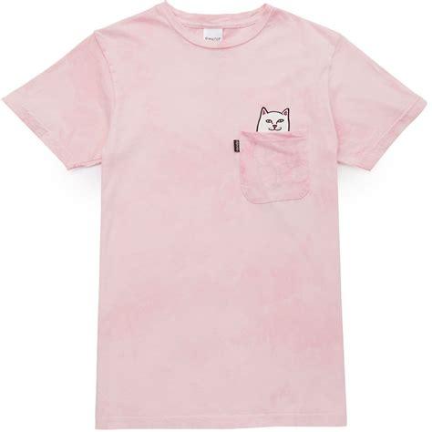 Kaos Rip N Dip 9 rip n dip lord nermal pocket t shirt pink mineral wash