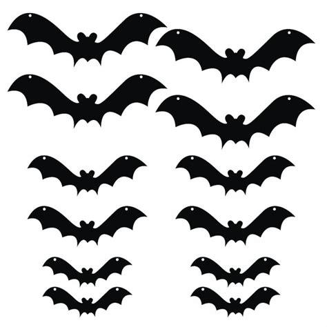 printable halloween decorations template printable halloween decorations bats festival collections