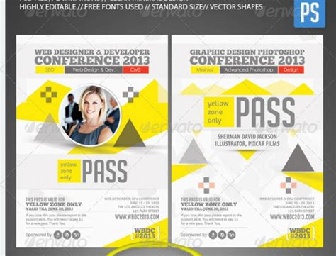 conference id card template conference id card template 28 images forecast 2016