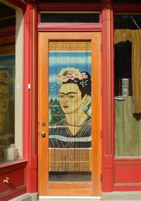 frida kahlo beaded curtain frida door daughter of junk drawer dawg pinterest