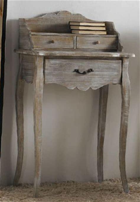 buro vintage blanco buro madera decapado blanco de artesania y decoracion