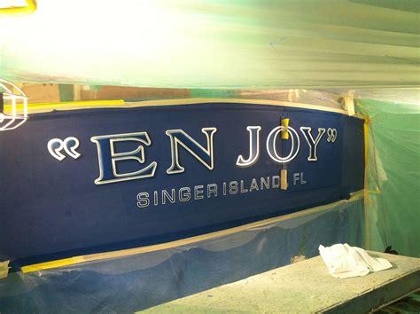 boat transom paint en joy singer island florida boat transom boats transom