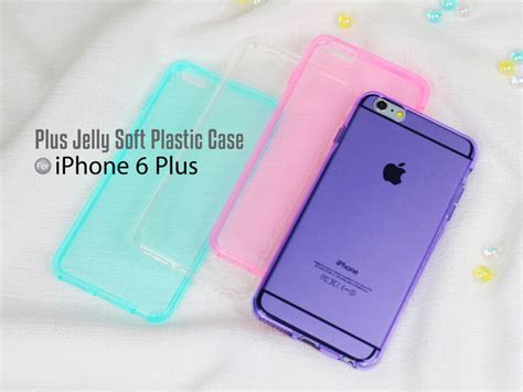 Casing Hp Soft Jely Apple Iphone 6 6s 6 6s Plus Soft Silikon iphone 6 plus 6s plus jelly soft plastic