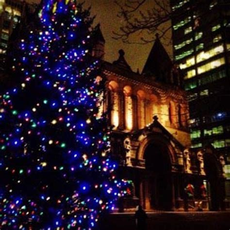 boston tree lighting 2017 copley square tree lighting 2017 boston central