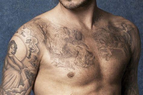 david beckham new tattoo david beckham s coolest tattoos in pictures fashionbeans