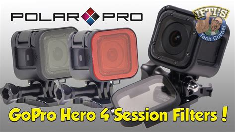 Filter Gopro 4 Session gopro 4 session polariser filter by polarpro