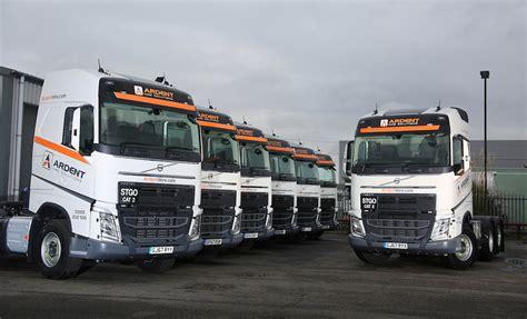 ardent hire solutions  strengthens  uk coverage    volvo trucks fleet uk haulier