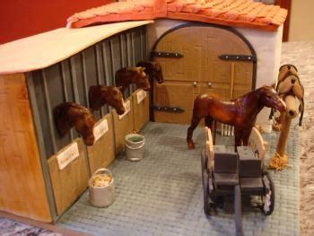 Ck Stude pferdehof mit pferden und kutsche motivtorten fotos