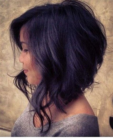 bobs on locked hair the layered locks angled bob hair pinterest angled