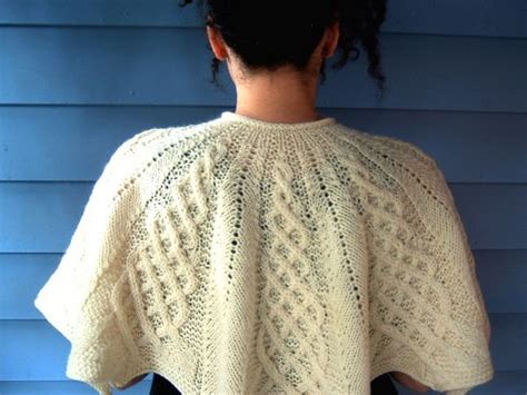 free knitting pattern library capelet knit this gorgeous cabled capelet with lion brand