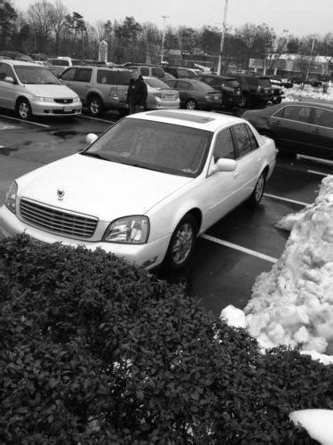 Buy used 2003 Cadillac DeVille Sedan 4-Door 4.6L CLEAN