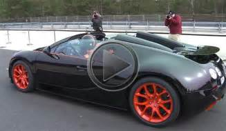 Top Speed Of The Bugatti Veyron Sport Bugatti Veyron Grand Sport Vitesse Wrc Top Speed Run