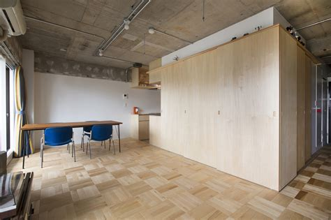 tiny japanese apartment small japanese apartment splits up space with partitions