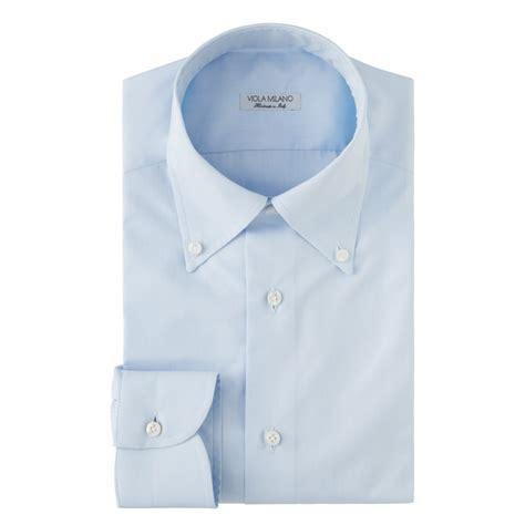 classic solid button collar dress shirt classic