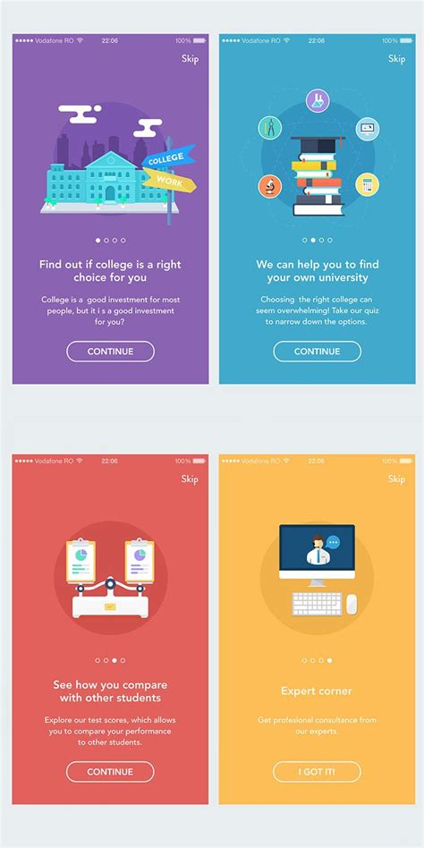 design inspiration ios app 40 mobile apps onboarding designs for your inspiration