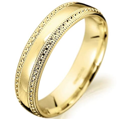 unique yellow gold wedding ring ipunya