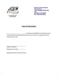 Authorization Letter To Pick Up Certification 9 Authorization Letters Authorizationletters Org
